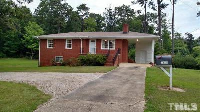 Wake County Rental For Rent: 7800 Penny Road