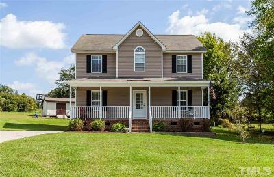 Benson Single Family Home For Sale: 27 Gray Ghost Street