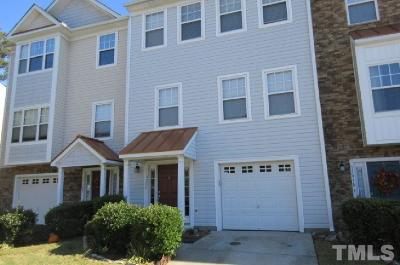 Raleigh Townhouse For Sale: 11920 Field Towne Lane