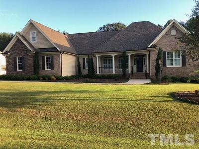 Raleigh Single Family Home Contingent: 3025 Cinder Bluff Drive