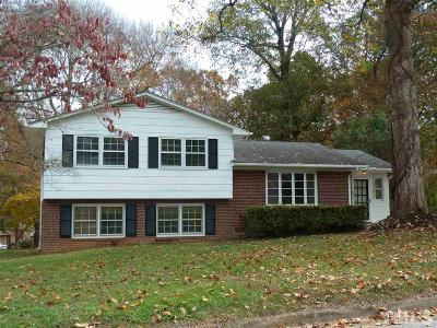Raleigh Rental For Rent: 4408 Latimer Road