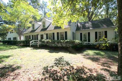 Raleigh Single Family Home For Sale: 7909 Hollander Place