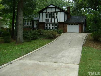 Raleigh Rental For Rent: 717 Hunting Ridge Road