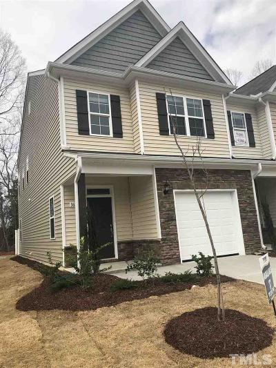 Raleigh Townhouse Pending: 17 Watermist Lane #17