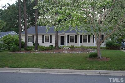 Raleigh Rental For Rent: 4504 Brost Court