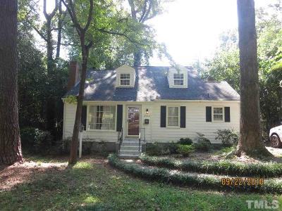 Raleigh Rental For Rent: 2705 N Mayview Road