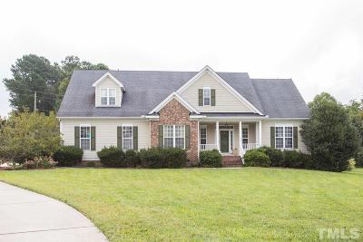 Single Family Home For Sale: 1401 Upchurch Woods Drive