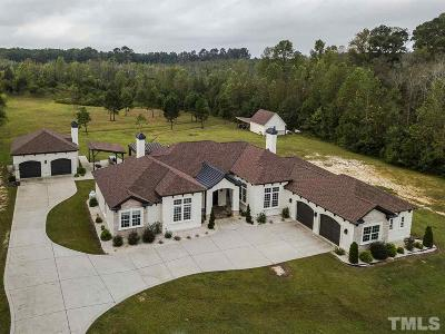 Johnston County Single Family Home Contingent: 10713 Nc 210 Highway
