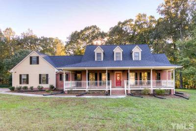 Rougemont Single Family Home For Sale: 12823 Summerwind Trail