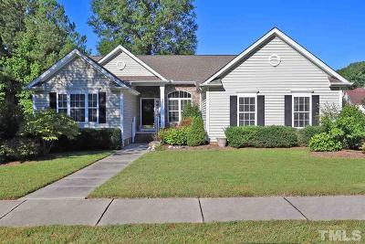 Morrisville Single Family Home Contingent: 135 Trumbell Circle