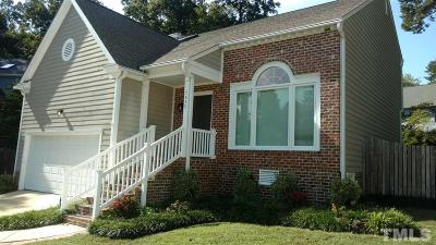 Raleigh Single Family Home Contingent: 1412 Deltona Drive