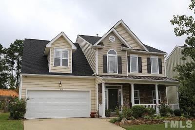 Fuquay Varina Single Family Home For Sale: 1123 Bridlemine Drive