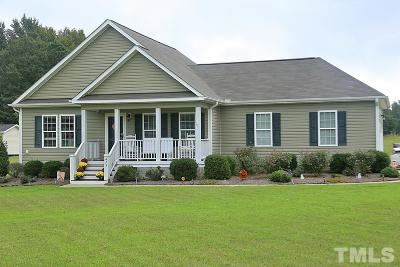 Angier Single Family Home Contingent: 425 Chisenhall Road