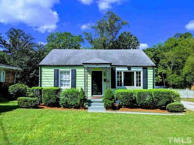 Wake County Single Family Home Contingent: 1113 Brookside Drive