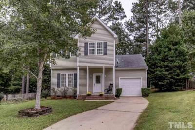 Wake Forest Single Family Home Contingent: 304 Black Swan Way