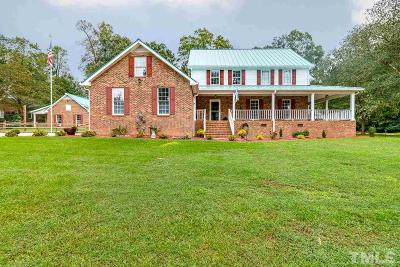 Harnett County Single Family Home For Sale: 1157 Keith Hills Road