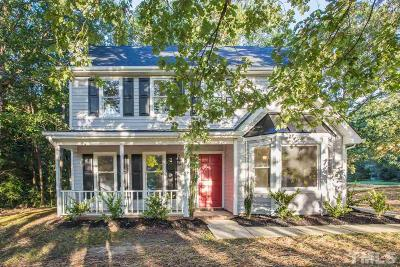 Durham Single Family Home Contingent: 3902 Tyne Drive