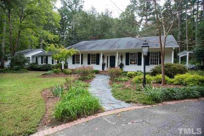 Durham Single Family Home Pending: 4209 New Bern Place