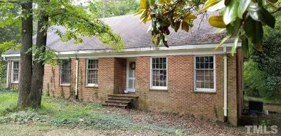 Chapel Hill Single Family Home Pending: 503 N Estes Drive