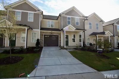 Garner Townhouse For Sale: 335 Mariah Towns Way