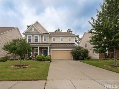 Morrisville Single Family Home Contingent: 733 Newstead Way