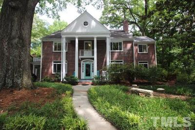Durham Single Family Home Contingent: 1311 Arnette Avenue