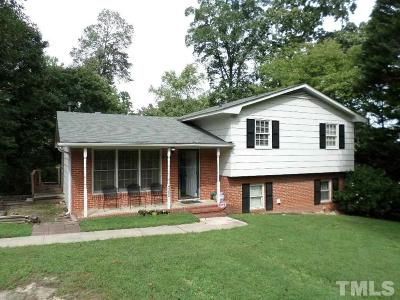 Wake County Single Family Home For Sale: 4305 Wedgewood Drive