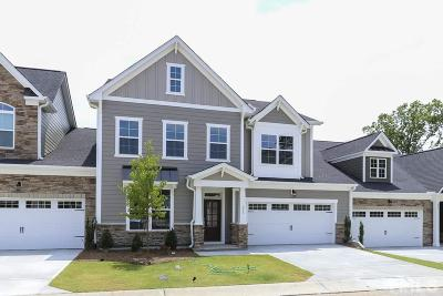Cary Townhouse For Sale: 912 River Bark Place #50