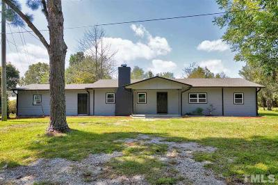 Fuquay Varina Single Family Home For Sale: 11031 Us 401 Highway