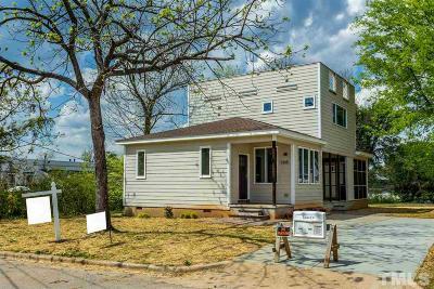 Wake County Single Family Home For Sale: 1305 E Lane Street