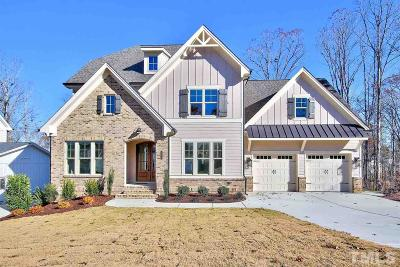 Fuquay Varina Single Family Home For Sale: 312 Harewood Place #Lot 224