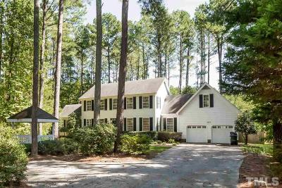 Chapel Hill Single Family Home For Sale: 6805 Knotty Pine Drive
