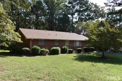 Durham Single Family Home For Sale: 301 Wayne Circle