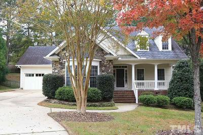 Wake Forest Single Family Home For Sale: 1024 Hidden Jewel Lane