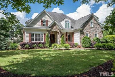 Wake Forest Single Family Home For Sale: 5705 Barham Crossing Drive