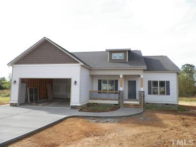 Benson Single Family Home For Sale: 240 Fox Run #Lot 30