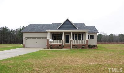 Zebulon Single Family Home For Sale: 152 Connelly Way
