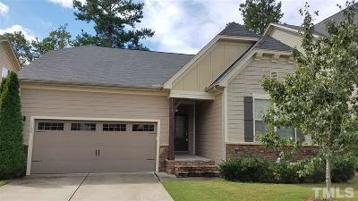 Apex Single Family Home For Sale: 5233 Moneta Lane