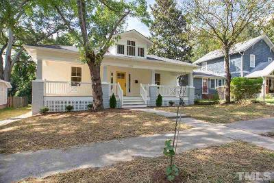 Durham Single Family Home Contingent: 1113 Clarendon Street