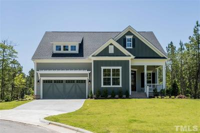 Holly Springs Single Family Home For Sale: 109 Silent Bend Drive #3