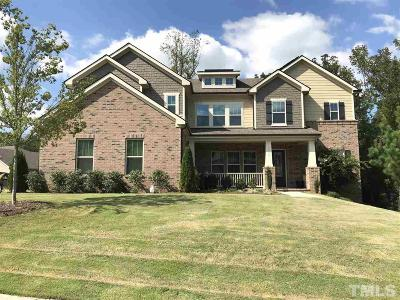 Raleigh Single Family Home For Sale: 3105 Umstead View Drive