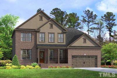 Apex Single Family Home For Sale: 3564 Willow Green Drive #Lot 182