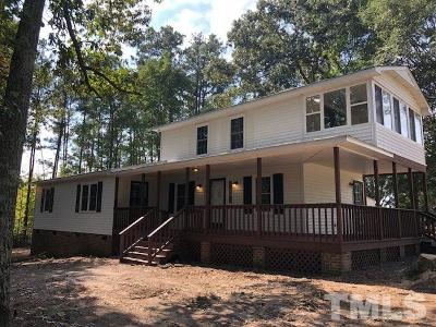 Youngsville Single Family Home Contingent: 5229 Mitchell Town Road