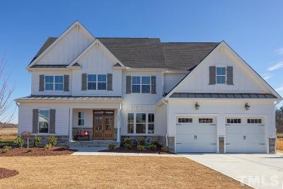 Wake Forest Single Family Home For Sale: 1601 Sweetclover Drive