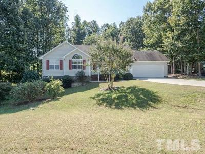 Youngsville Single Family Home For Sale: 440 Eagle Stone Ridge