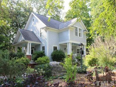 Hillsborough Single Family Home For Sale: 326 W Queen Street