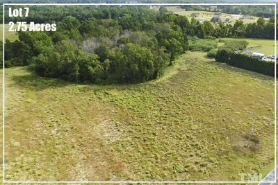 Harnett County Residential Lots & Land For Sale: Lot 7 River Road