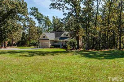 Benson Single Family Home For Sale: 140 Lindsey Lane