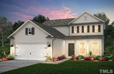 Fuquay Varina Single Family Home For Sale: Attend Crossing #Lot 73