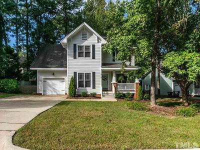 Apex Single Family Home Contingent: 319 Pine Nut Lane